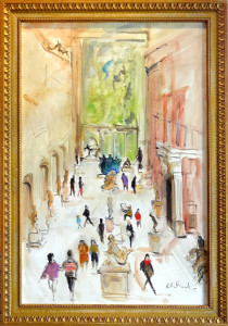 HF-Sculpture-Courtyard-Metropolitan-Museum.-oil-on-canvas-20-x-30