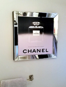 Exclusive reproduction of 1947 Chanel ad 22