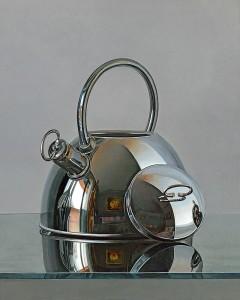 Ilo Oxa_teapot_hyper realism_photo realism_Westwood Gallery_Art_metal print