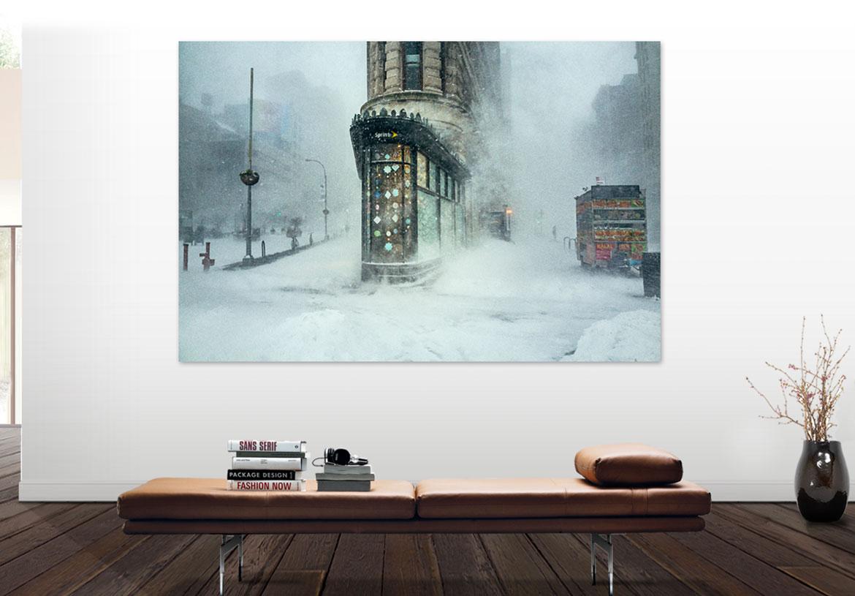 Flatiron-in-winter-storm-Jonas_viral-photograph_Blizzard-Jonas_-Flatiron-in-snow_-Flat-Iron-Building_Westwood-Gallery