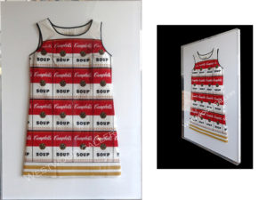 Andy-Warhol_Souper-Dress-_Plexi-box_-plexiboxes_shadowboxes_memorabilia-framing_medals_sports-jerseys_-document-framing_archival_framing_Upper-Saddle-River-1