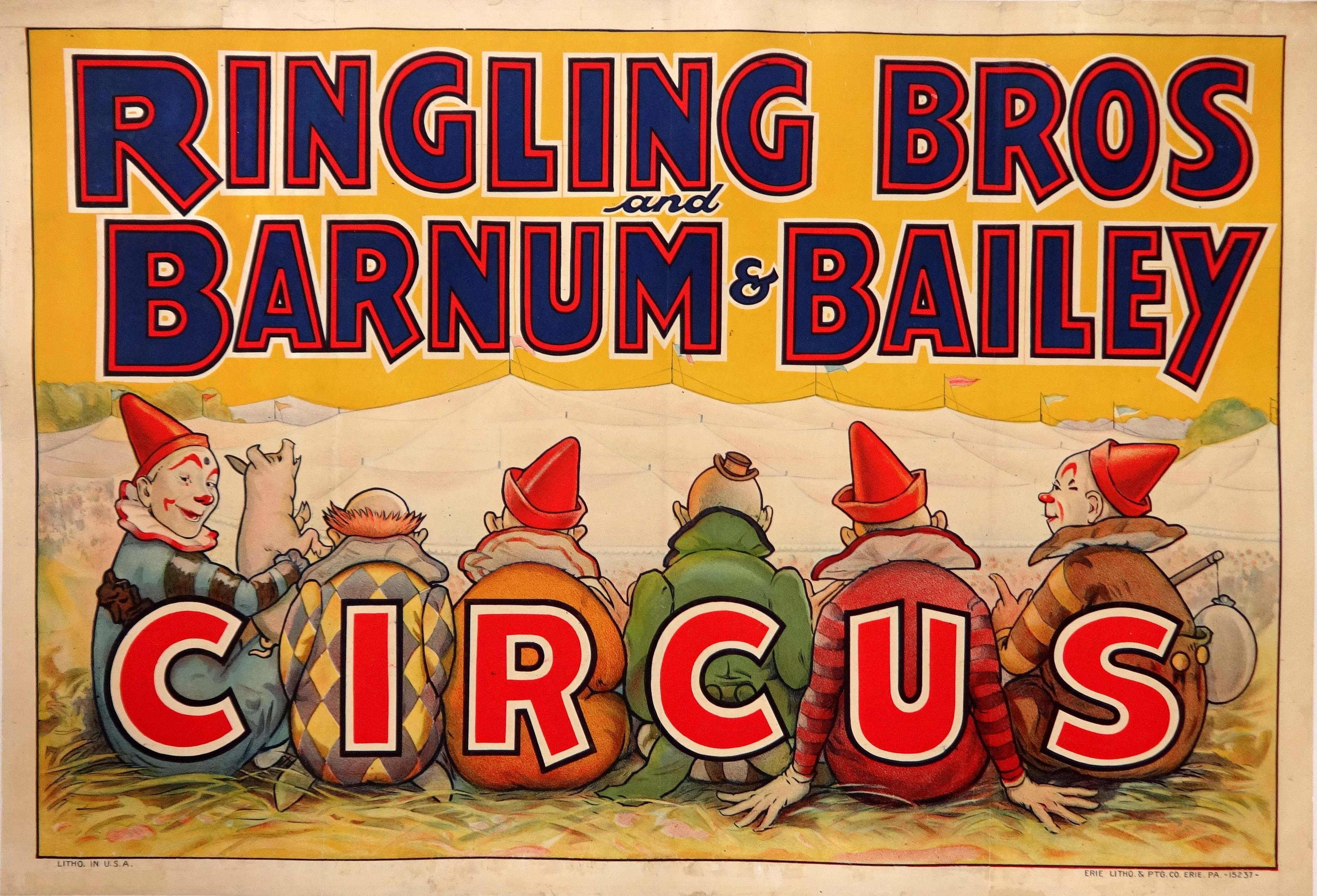 A farewell to the circus 100 years of original circus for Circus posters free